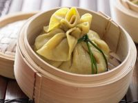 Steamed Vegetarian Dumplings recipe