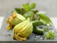 Steamed Zucchini Blossoms recipe