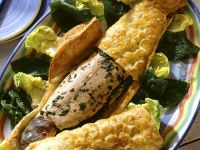 Steelhead Trout En Croute recipe