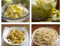 Step-by-step for Crumble recipe