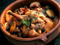 Stew with Rabbit and Rosemary Potatoes recipe