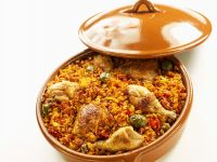 Stewed Rice with Chicken recipe