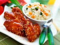 Sticky Chinese Chicken recipe