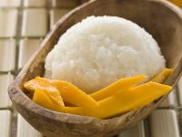 Sticky Rice with Mango recipe