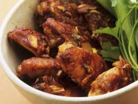Sticky Scallion Chicken Wings recipe