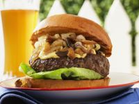 Stilton and Mushroom Burger recipe