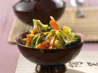 Stir-fried Asian Vegetables recipe
