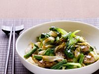 Stir-Fried Beef and Bok Choy recipe
