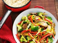 Stir-fried Beef and Vegetables recipe