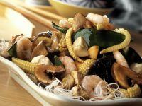 Stir-fried Shrimp with Vegetables recipe