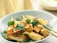 Stir-Fried Tofu and Bok Choy recipe