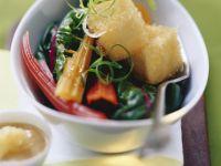 Stir Fried Tofu and Chard recipe