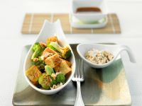 Stir-Fried Tofu with Broccoli recipe