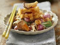 Stir-fried Tofu with Vegetables recipe