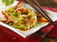 Stir-fried Turkey and Vegetables recipe