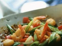Stir-Fried Vegetables with Shrimp recipe