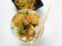 Stir-fried Vegetables with Tofu recipe