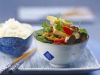 Stir-fry Eggplant with Tofu recipe