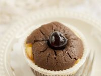 Stone Fruit and Cocoa Cupcakes recipe