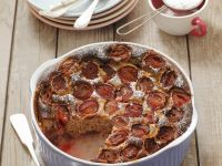 Stone Fruit Cake Pudding recipe