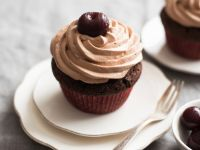 Stone Fruit-topped Cupcakes recipe