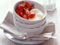 Strawberries with Fromage Frais and Rosemary recipe