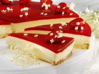 Strawberry and Elderflower Cheesecake recipe