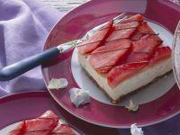 Strawberry Cheesecake Slices recipe