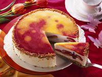 Strawberry Cheesecake with Mango