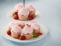 Strawberry Cupcakes with Cream Cheese Frosting recipe
