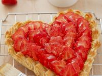 Strawberry Heart Tart recipe