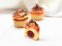 Strawberry Jam Filled Muffins recipe