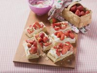 Strawberry Pastry Slices recipe