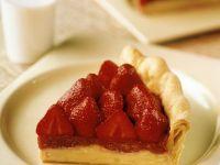 Strawberry Rhubarb Tart recipe