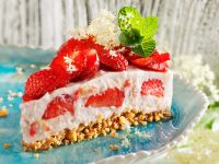 Strawberry Rice Pudding Pie recipe