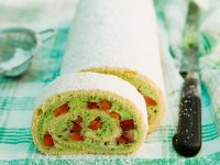 Strawberry Spongecake Roll recipe