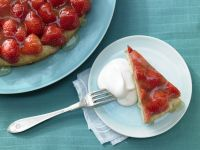 Strawberry Tart with Lime Glaze recipe