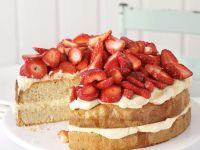Strawberry Vanilla Torte recipe
