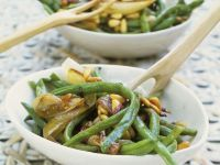 String Bean and Shallow Bowl recipe