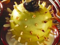 Stuffed Apples with Almonds recipe
