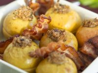 Stuffed Apples with Bacon recipe
