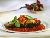 Stuffed Aubergine Halves recipe