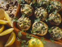 Stuffed Baked Mushrooms recipe