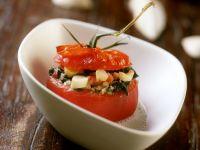 Stuffed, Baked Tomatoes recipe