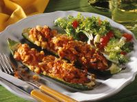 Stuffed, Baked Zucchini recipe