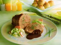 Stuffed Boneless Pork Roast recipe