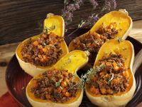 Stuffed Butternut Squash recipe