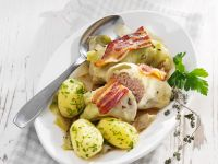 Stuffed Cabbage with Bacon recipe