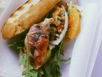 Stuffed Calamari Sandwiches recipe