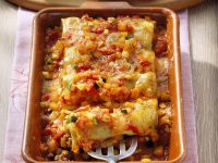 Stuffed Cannelloni with Sauce recipe